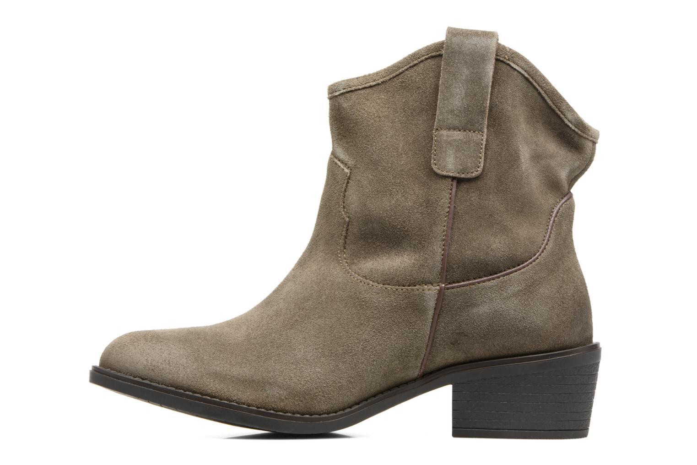Bottines et boots Gioseppo Bastrop Vert vue face