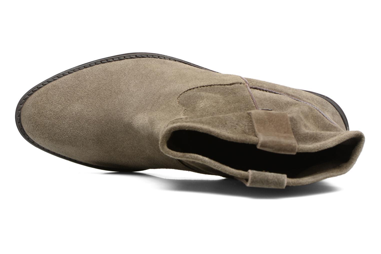 Bottines et boots Gioseppo Bastrop Vert vue gauche