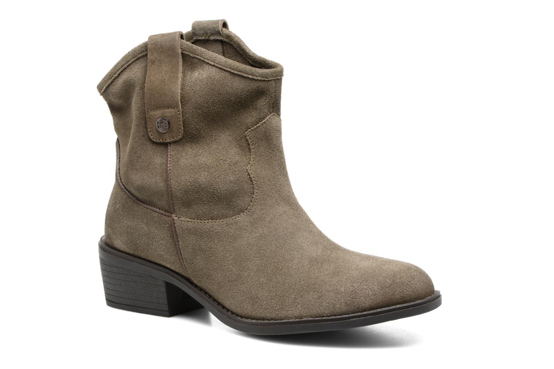 Bottines et boots Gioseppo Bastrop Vert vue détail/paire