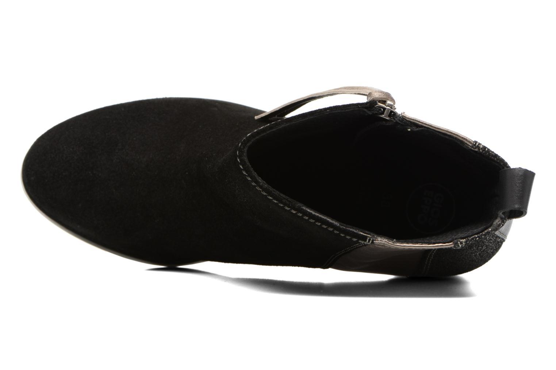 Bottines et boots Gioseppo Bienville Noir vue gauche