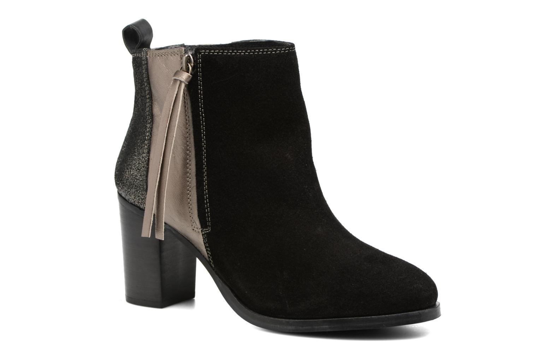 Bottines et boots Gioseppo Bienville Noir vue détail/paire