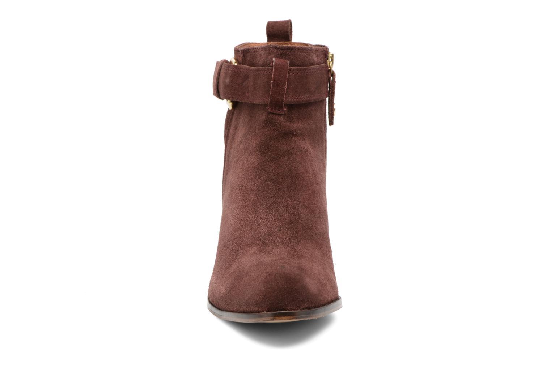 Bottines et boots Gioseppo Dothan Bordeaux vue portées chaussures