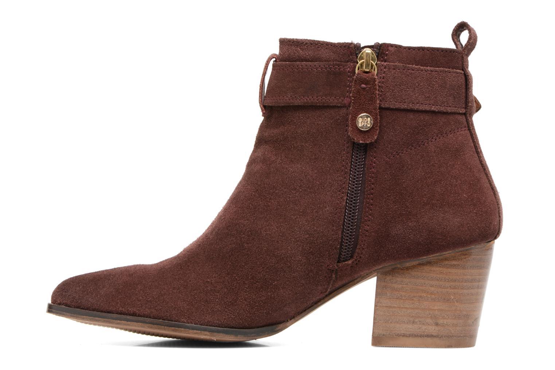 Bottines et boots Gioseppo Dothan Bordeaux vue face