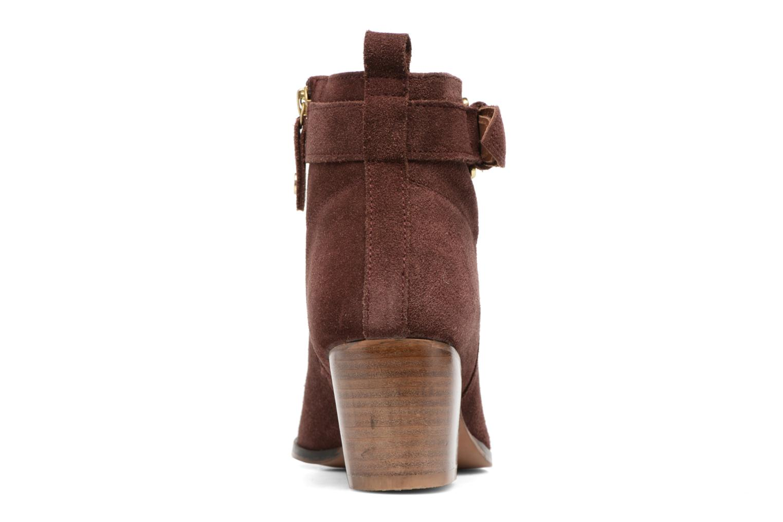 Bottines et boots Gioseppo Dothan Bordeaux vue droite