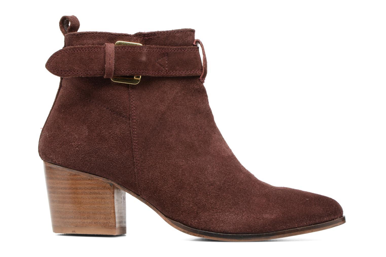 Bottines et boots Gioseppo Dothan Bordeaux vue derrière