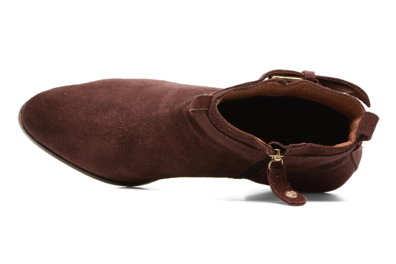Bottines et boots Gioseppo Dothan Bordeaux vue gauche