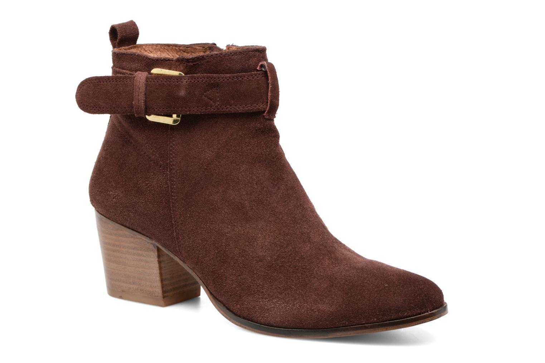 Bottines et boots Gioseppo Dothan Bordeaux vue détail/paire
