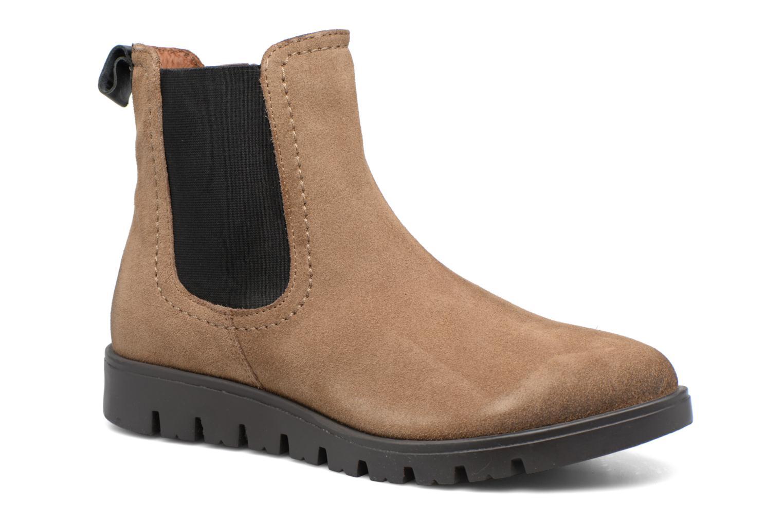 Bottines et boots Gioseppo Dresalti Beige vue détail/paire