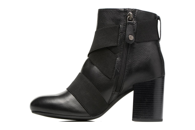 Bottines et boots Gioseppo Logan Noir vue face