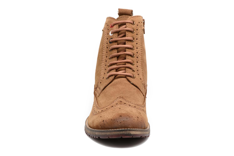 Bottines et boots Gioseppo Aneto Marron vue portées chaussures