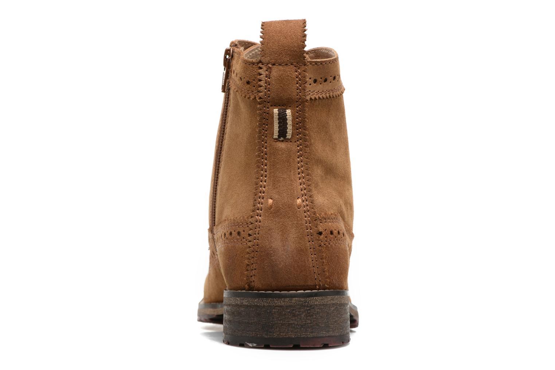 Bottines et boots Gioseppo Aneto Marron vue droite