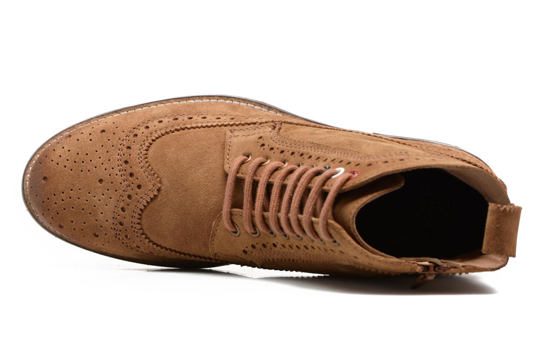 Bottines et boots Gioseppo Aneto Marron vue gauche