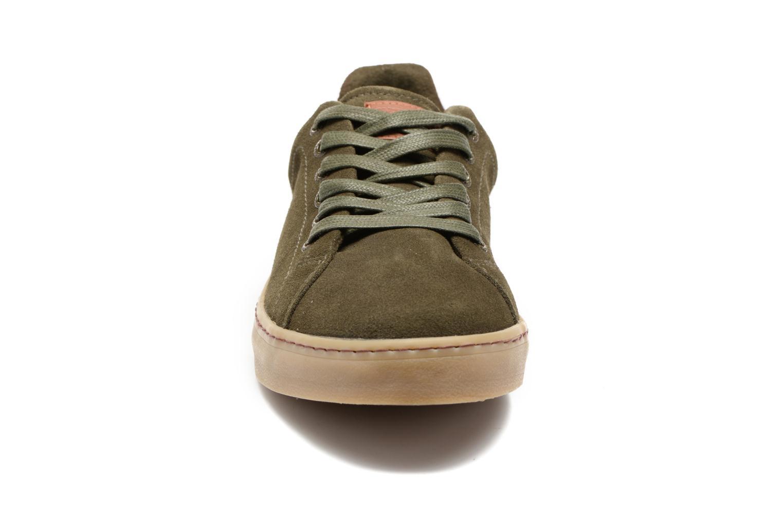 Baskets Gioseppo Breyton Vert vue portées chaussures