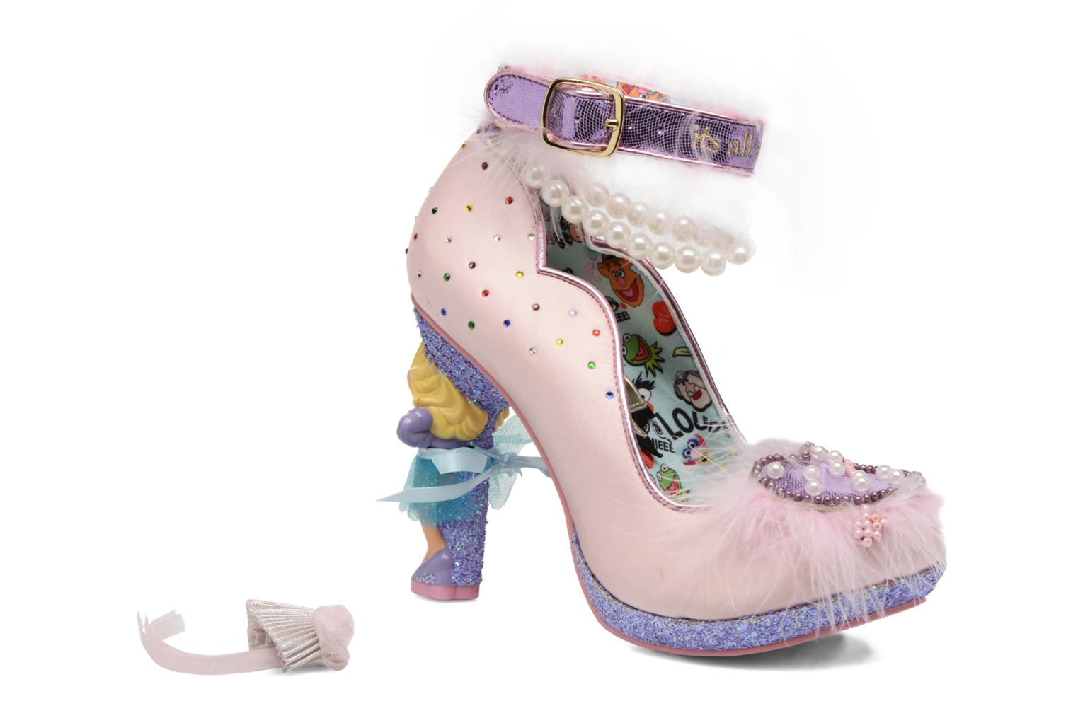 Escarpins Irregular Choice All About Moi Rose vue 3/4