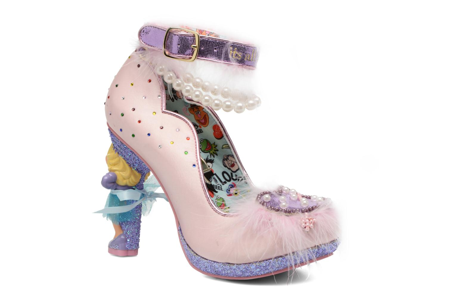 Escarpins Irregular Choice All About Moi Rose vue détail/paire