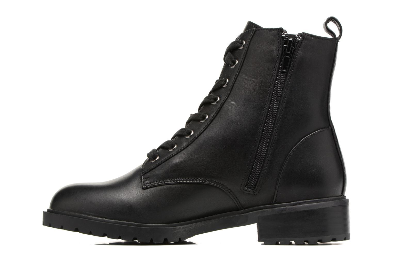 Bottines et boots Steve Madden Officer Noir vue face