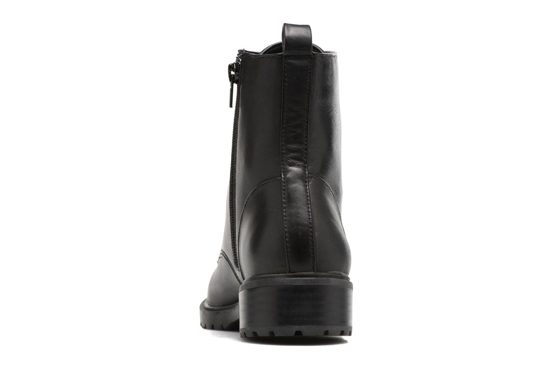 Bottines et boots Steve Madden Officer Noir vue droite