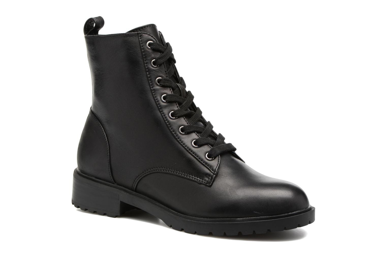 Bottines et boots Steve Madden Officer Noir vue détail/paire