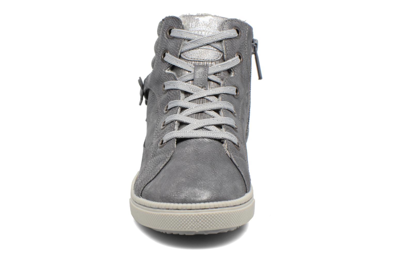 Baskets Mustang shoes Elli Gris vue portées chaussures