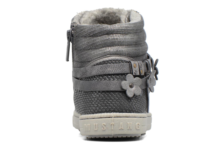 Baskets Mustang shoes Elli Gris vue droite