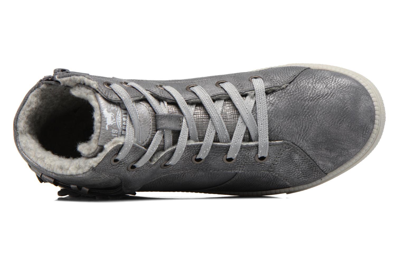 Baskets Mustang shoes Elli Gris vue gauche
