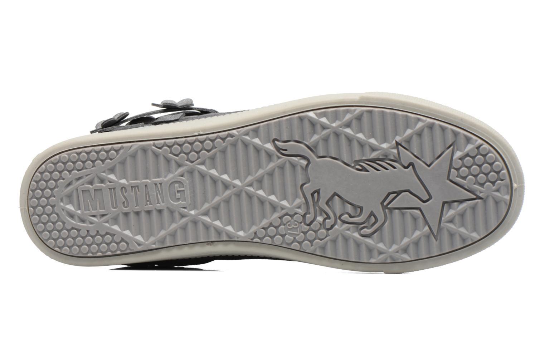 Baskets Mustang shoes Elli Gris vue haut