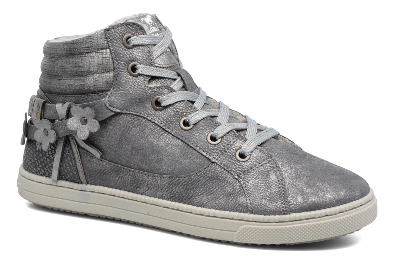 Baskets Mustang shoes Elli Gris vue détail/paire