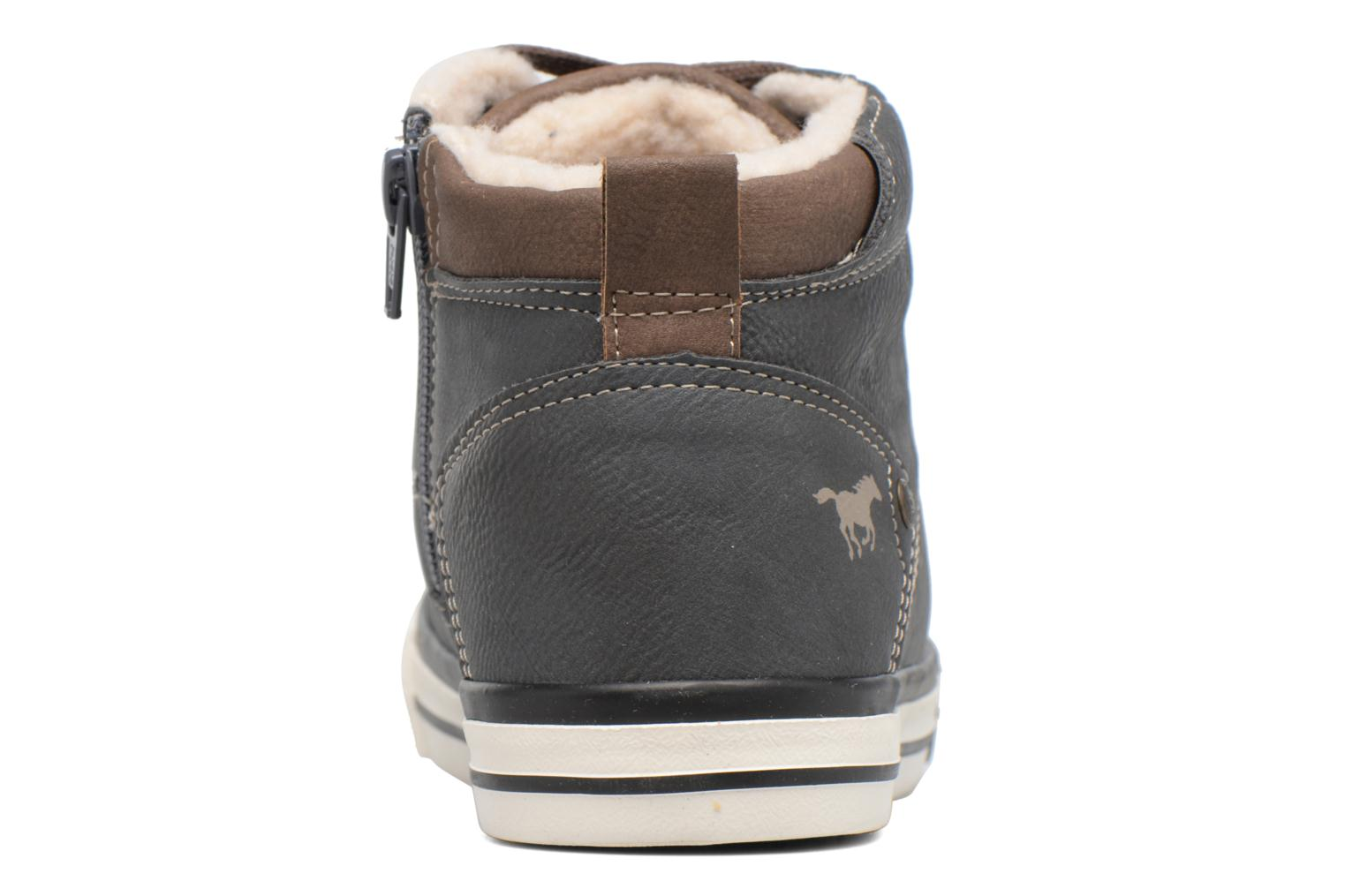 Baskets Mustang shoes Benno Gris vue droite