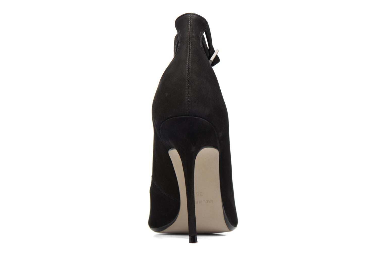 Zapatos de tacón Bronx Briox B Negro vista lateral derecha