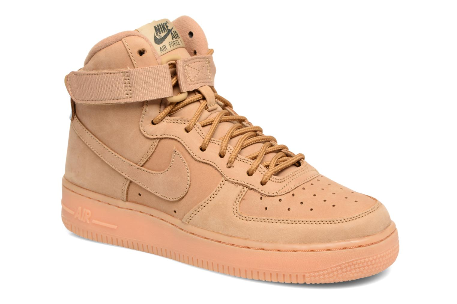 Sneakers Nike Air Force 1 High Wb (Gs) Marrone vedi dettaglio/paio