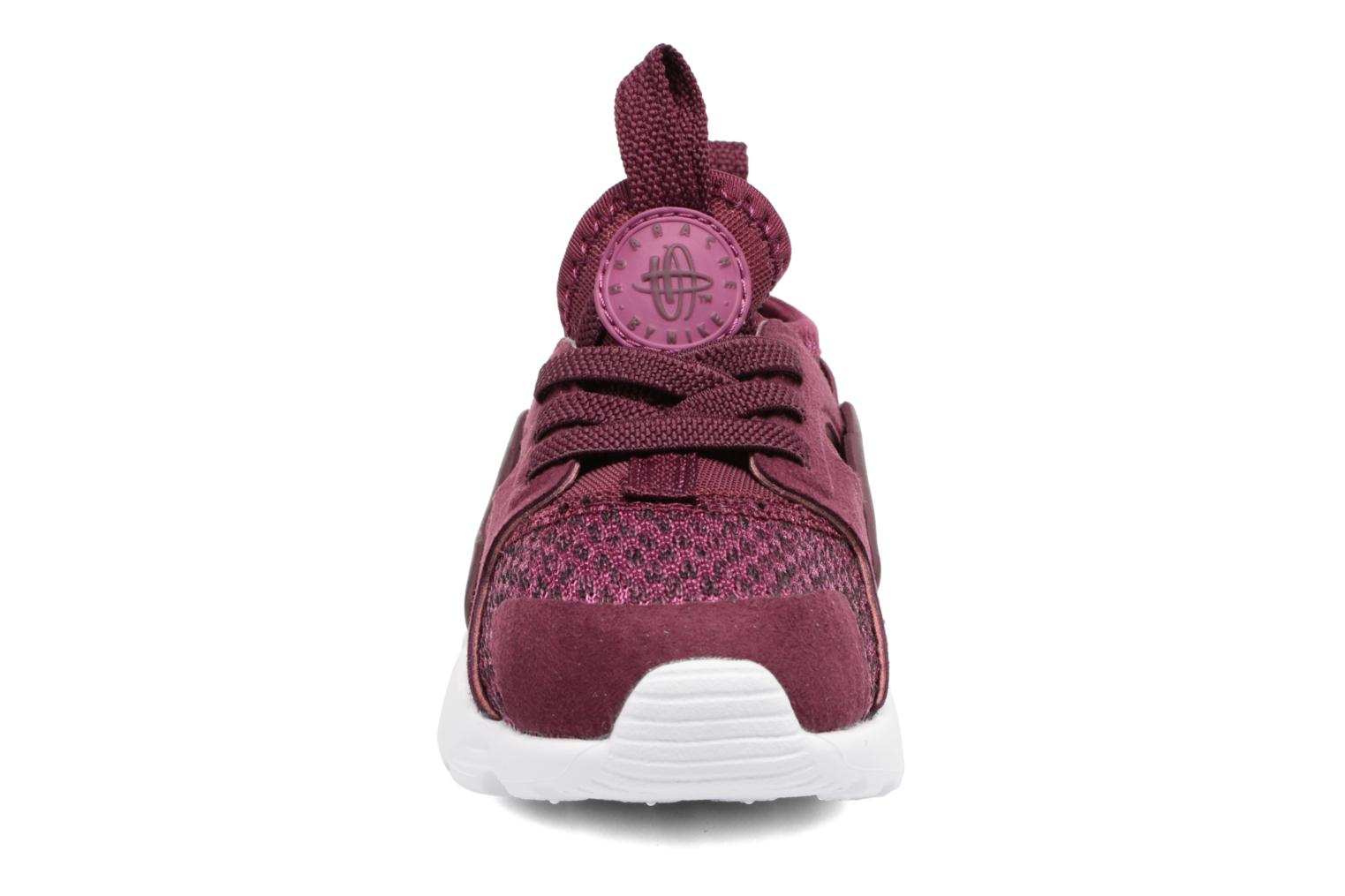 Bordeaux/Bordeaux-Tea Berry-Black Nike Huarache Run Ultra Se (Td) (Bordeaux)