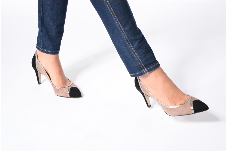High heels Georgia Rose Gabla Multicolor view from underneath / model view