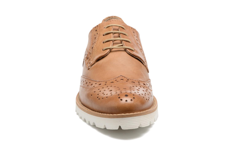 Chaussures à lacets Kickers Pytch Marron vue portées chaussures