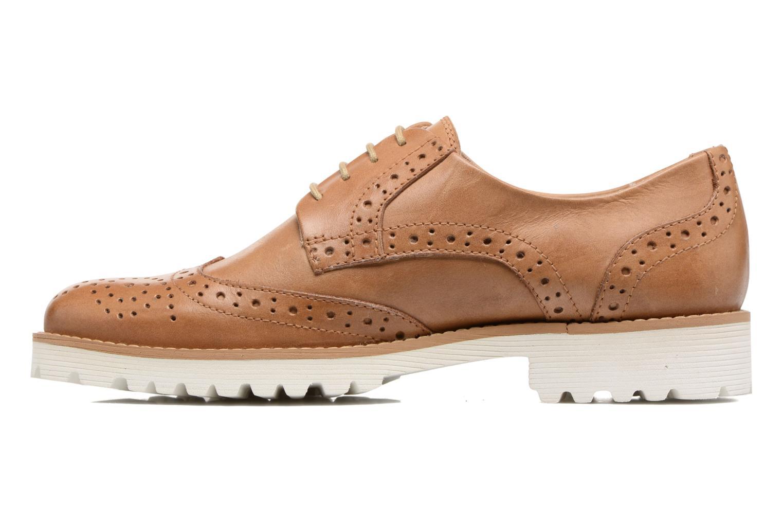 Chaussures à lacets Kickers Pytch Marron vue face