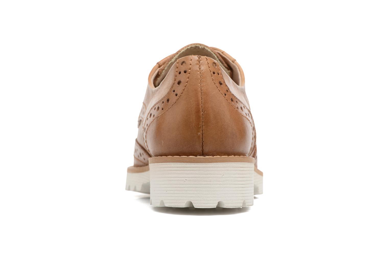 Chaussures à lacets Kickers Pytch Marron vue droite
