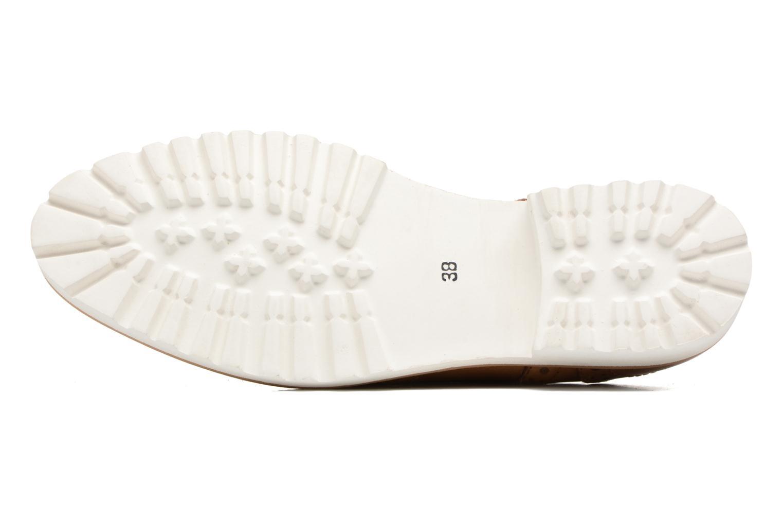 Chaussures à lacets Kickers Pytch Marron vue haut