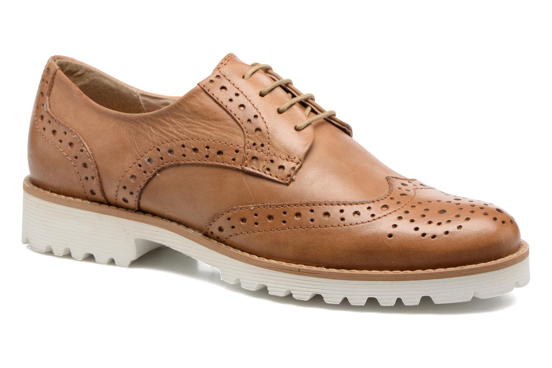 Chaussures à lacets Kickers Pytch Marron vue détail/paire