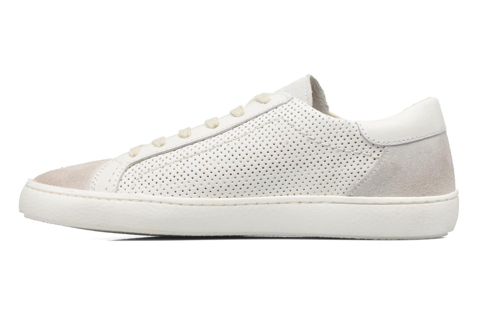 Baskets Kickers Real Blanc vue face
