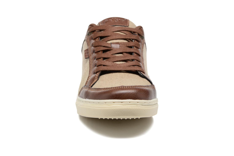 Baskets Kickers Aart Hemp Marron vue portées chaussures