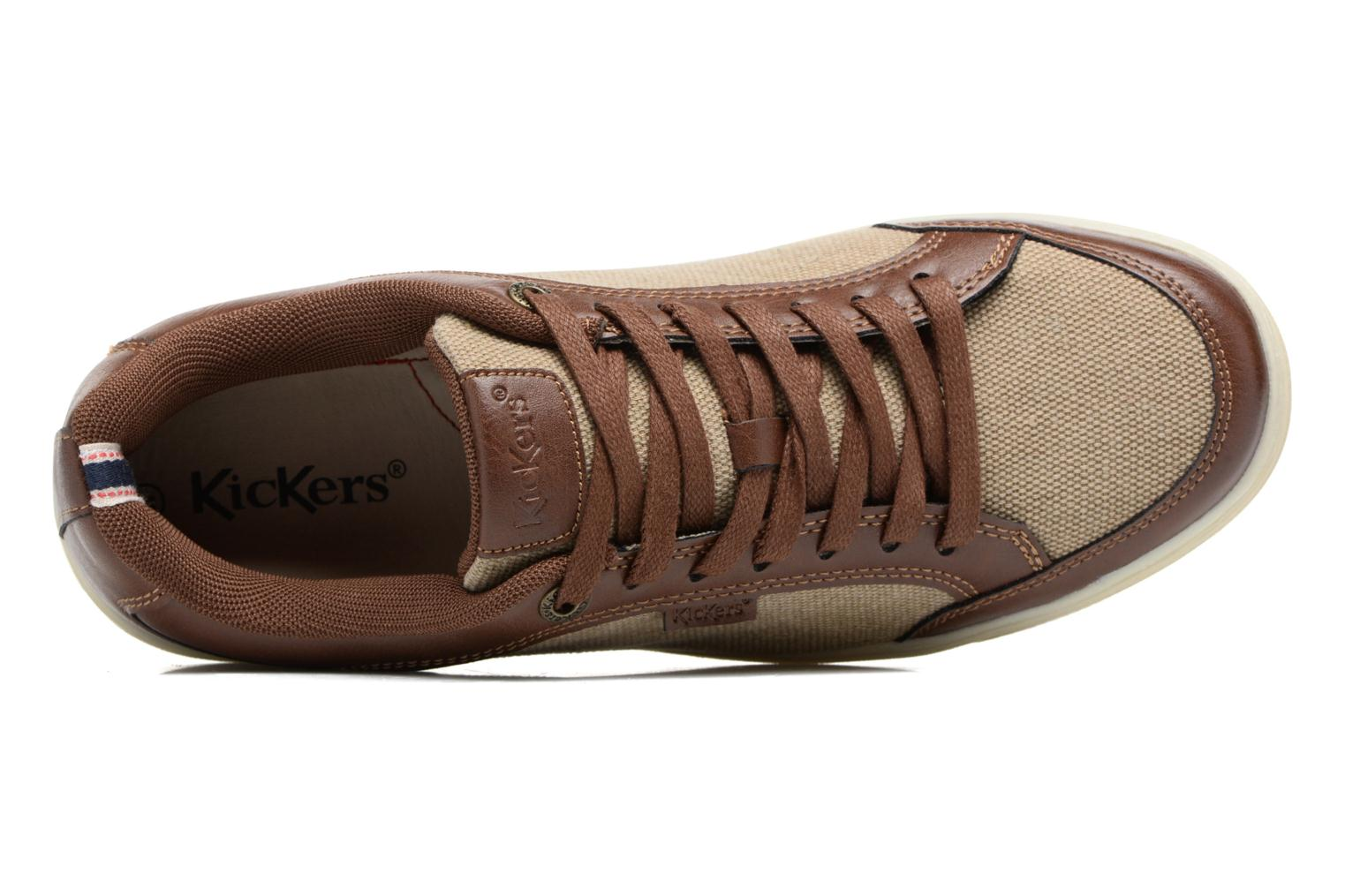 Marron Bleu Kickers Aart Hemp (Marron)