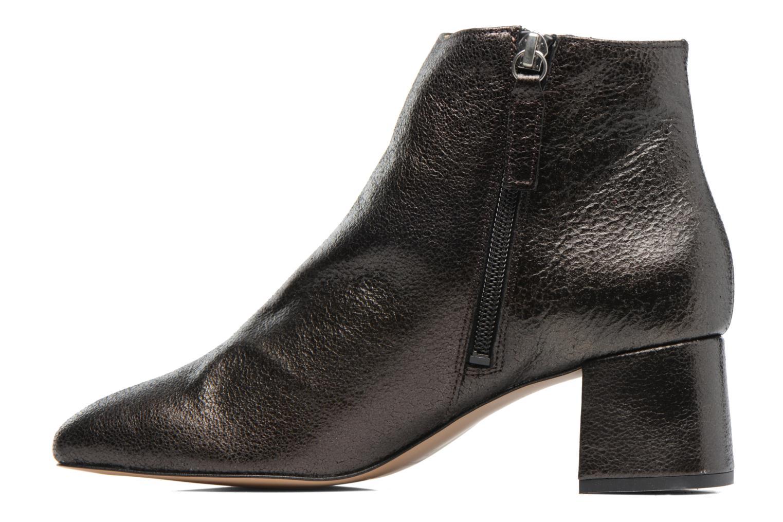 Bottines et boots Georgia Rose Craquel Noir vue face