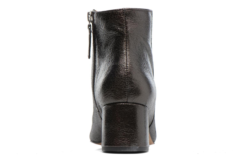 Bottines et boots Georgia Rose Craquel Noir vue droite