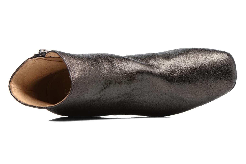 Bottines et boots Georgia Rose Craquel Noir vue gauche
