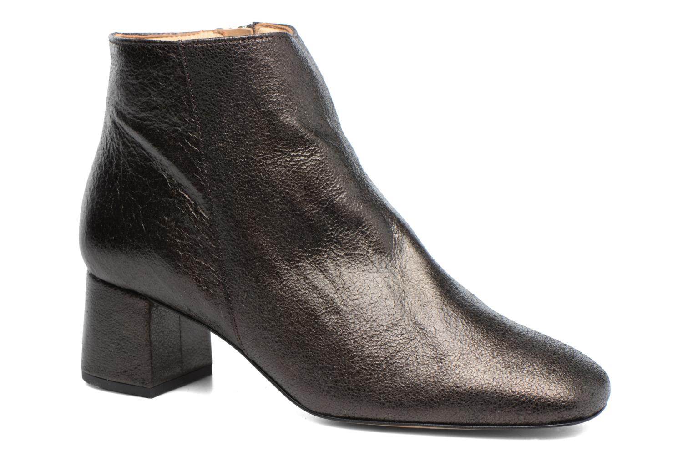 Bottines et boots Georgia Rose Craquel Noir vue détail/paire