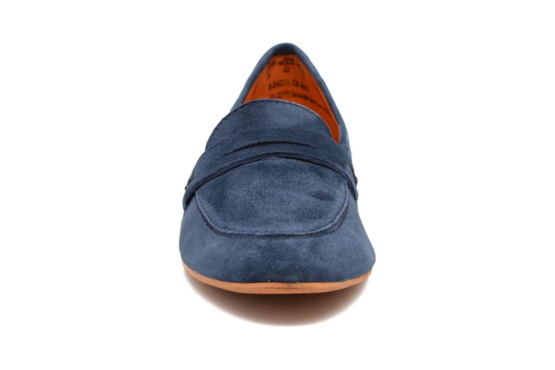 Mocassins Tamaris Slippa Bleu vue portées chaussures