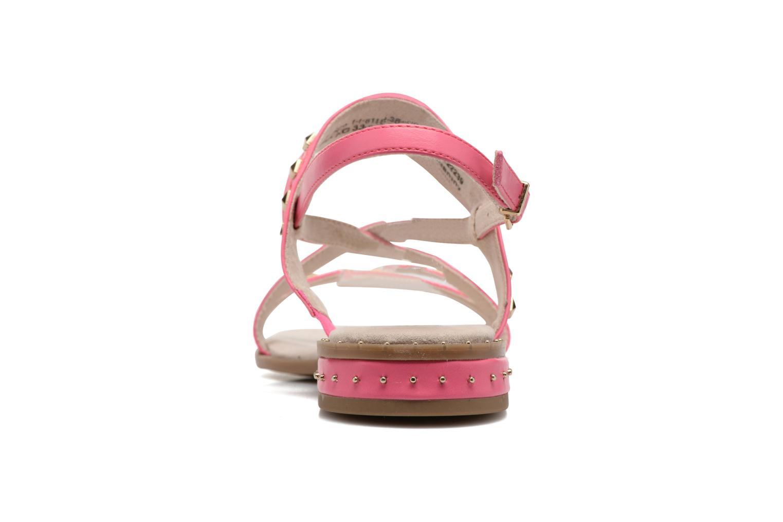 Sandales et nu-pieds Tamaris Aline Rose vue droite