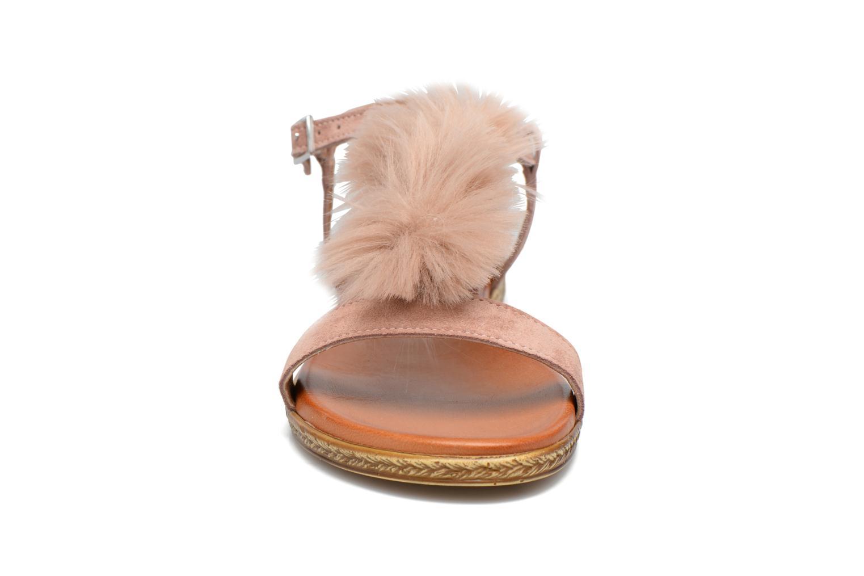 Sandales et nu-pieds Tamaris Pompina Rose vue portées chaussures