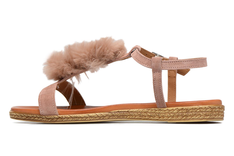 Sandales et nu-pieds Tamaris Pompina Rose vue face