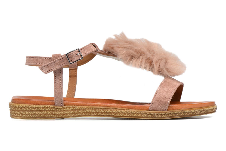 Sandales et nu-pieds Tamaris Pompina Rose vue derrière