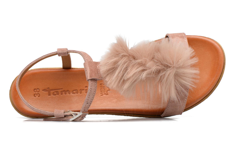 Sandales et nu-pieds Tamaris Pompina Rose vue gauche